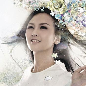 Crystal Cheung (张纹嘉) – 假装愉快 (Pretend To Be Happy) - crystal-1